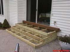 >> Wonderful Picket Patio Steps | Porch Stairs... #garden_patio_steps