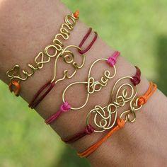 infinity love, best friends bracelets, friendship bracelet