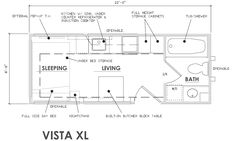 Escape Vista - 22'x 8.5', tub, washer-dryer, 1st fl sleeping!!