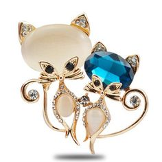 Image result for cat brooches vintage