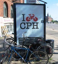 Worlds Best Cycle City Copenhagen Denmark EU One day! one dayyy!! :')