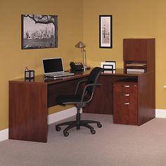 Desk, Corner Desk, Corner Solution, Hansen Cherry, Desk Solutions