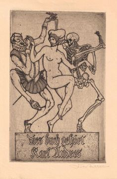 Ex Libris Mr. Reaper -- bookplates from the collection of Richard Sica.