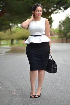 Ai nói béo mặc đồ ko đẹp thì vào xem chị này :D