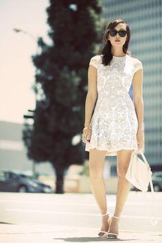 Crystal Lace Dress | PIN Blogger