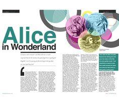 Image result for alice in wonderland layout design