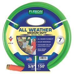 Beautiful Flexon Reinforced 4 Ply Nylon All Weather Hose