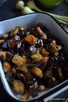 Vinete la cuptor cu mujdei de usturoi (11) My Recipes, Low Carb Recipes, Salad Recipes, Vegetarian Recipes, Romanian Food, Balanced Meals, 30 Minute Meals, Good Food, Tasty