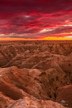 Badlands National Park, SD.