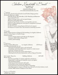 fashion resume example
