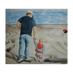 I think of DAD when... ever I watch sports by Melissa on Etsy