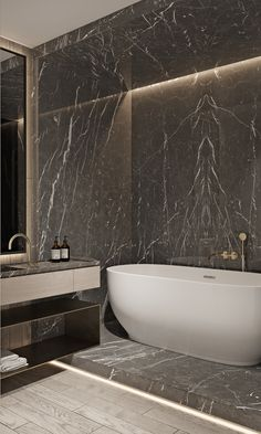 """TOL'KO / """"RICE FLAT"""" Archive project 2018 on Behance Bathroom Design Luxury, Modern Bedroom Design, Modern Interior Design, Interior Architecture, Bathroom Tub Shower, Tub Shower Combo, Apartment Projects, Apartment Interior, Classic Bathroom"""
