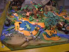 Le FORUM des Grands Z'enfants :: Le village Playmobil à Leclerc