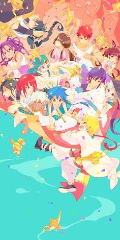 Anime/Manga Fan Art Archives: Magi Labirynth of Magic by MonQMonk Manga Magi, Manga Anime, Anime Magi, Magi Sinbad, Magi 3, Magi Adventures Of Sinbad, Magi Kingdom Of Magic, Aladdin Magi, Film D'animation