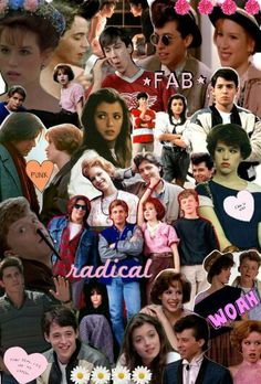 john hughes films collage i dont know why this is perfect 90s Movies, Iconic Movies, Classic Movies, Great Movies, Movie Tv, Movie Collage, Brat Pack, 80s Aesthetic, Aesthetic Vintage