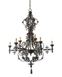 Laredo five light chandelier eclectic chandeliers exp but love look chandelier lighting at neiman marcus horchow mozeypictures Choice Image
