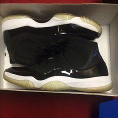finest selection e8daf 3ba95 Jordan Shoes   Space Jam 11   Color  Black   Size  12