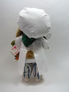 Apple Whimseys 2002 Chey Lapin Rabbit Chef Signed Lita Gates Numbered…
