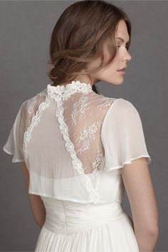 Hedgerow Lace Topper from BHLDN