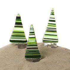 Juletræer stribede
