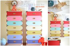Built to Order Campaign Chests Any size Any color Lacquered