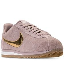 Nike Women's Classic Cortez Se Casual Sneakers from Finish Line - Brown 9 Casual Sneakers, Shoes Sneakers, Women's Shoes, Pijamas Women, Roshe One, Classic Cortez, New Balance Women, Finish Line, Baby Clothes Shops