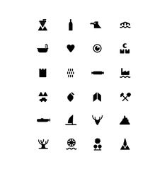 ICONS by Romualdo Faura, via Behance