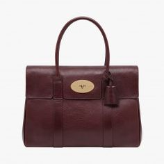Sac Bayswater bordeaux - Mulberry