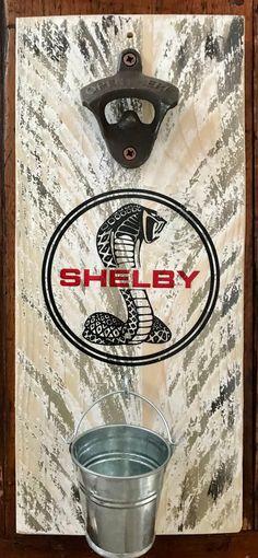 Blanc shabby chic ouvre-bouteille et handy pot collecteur mural