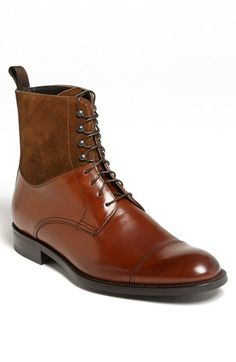 To Boot New York 'Wright' Cap Toe Boot available at #Nordstrom