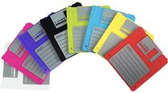 PHT Silicone Blanked Label Retro 3.5 Inches Floppy Disk A...