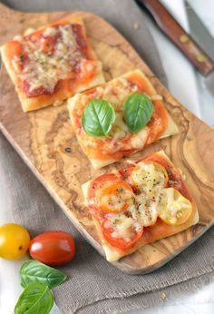 3 x mini pizza. Drie lekkere recepten voor mini pizza's. Lekker voor bij de…