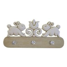 Bunny Coat Peg Rack for Child's Room Our coat peg rack provides fun and function for your child's room and great gifts for a new baby. This adorable hand painted bunny peg rack has faceted knobs and keyhole mount ( … Read Bedroom Themes, Nursery Themes, Nursery Decor, Bunny Room, Bunny Nursery, Boys Room Decor, Kids Room, Nursery Chandelier, Coat Pegs