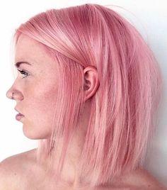 Pink And Orange Hair, Pink Short Hair, Dark Pink Hair, Rose Pink Hair, Bright Pink Hair, Pink Ombre Hair, Pastel Pink Hair, Blonde With Pink, Hair Color Pink