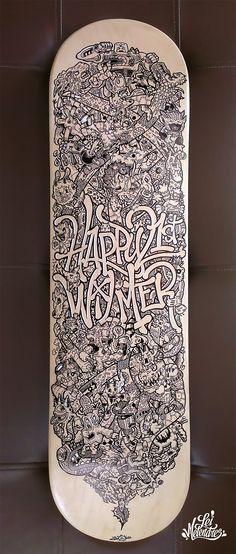 Skateboard Doodle Art on Behance