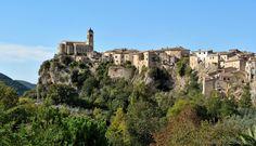 Toffia (Rieti) - Il Borgo - Photo G. Garofoli - © All rights reserved - Tesori del Lazio Dream Vacation Spots, Vacation Destinations, Dream Vacations, Places Around The World, Around The Worlds, The Province, Prehistoric, Archaeology, Adventure Travel