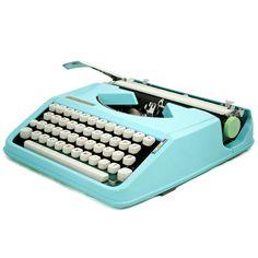 Custom 1951 Hermes Typewriter