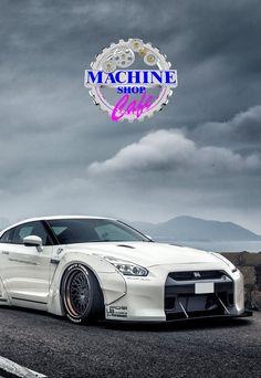 Visit The MACHINE Shop Café... ❤ Best of Nissan @ MACHINE ❤ (Liberty★Walk Nissan GT-R R35)