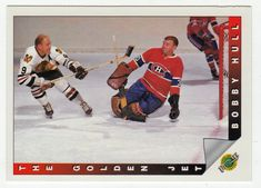 Bobby Hull # 91 - The Curse of Muldoon is Lifted - 1991-92 Upper Deck Ultimate Original Six Hockey
