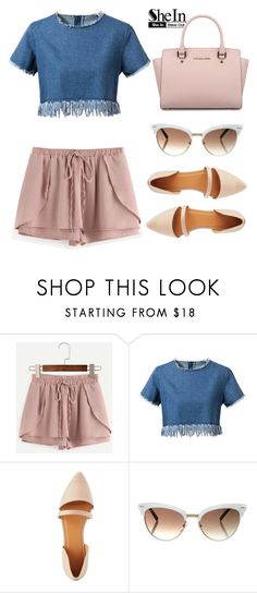 """""""Untitled #457"""" by kayla02j ❤ liked on Polyvore featuring Chicnova Fashion, Charlotte Russe, Gucci and Michael Kors"""
