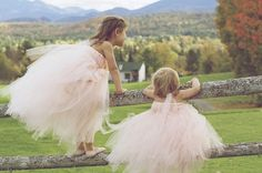 Tutu Flower Girl dresses..if you know me, you know i will have this at my wedding =]!