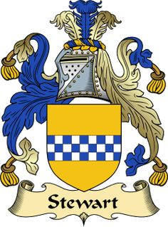 Stewart Family Crest and History