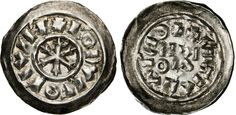 NumisBids: Numismatica Varesi s.a.s. Auction 65, Lot 428 : MILANO - RODOLFO DI BORGOGNA (0922-926) Denaro scodellato. D/...