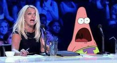 Patrick Star always went with whatever the characters of the Spongebob universe did. Hilarity ensues when he is surprised by ours. Here are the best GIFs of Patrick's utter shock at our world. Meme Patrick, Patrick Star, Chernobyl, Funny Videos, Funny Gifs, Funny Texts, Funny Jokes, Surprised Patrick, Time Tumblr
