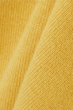 Chloé - Iconic Cashmere Sweater - Mustard - x large