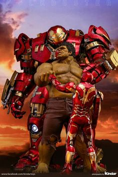 Hulkbuster hot toys collectible figurine