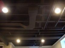 Ceiling Ideas Basement Ceiling Ideas Basement Ceiling Ideas Basement Ceiling Ideas Night bedroom on attic, empty ( Exposed Basement Ceiling, Basement Ceiling Painted, Basement Ceiling Options, Ceiling Ideas, Basement Ideas, Basement Decorating, Basement Plans, Basement Designs, Ceiling Fans