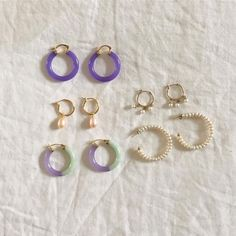 Everyday fashion jewelry that you can't go wrong with. Shop affordable and fashionable Jewelry from Empty Whole today. Ear Jewelry, Cute Jewelry, Jewelry Box, Jewelry Accessories, Jewlery, Diy Jewellery, Dainty Jewelry, Jewellery Storage, Gold Jewelry