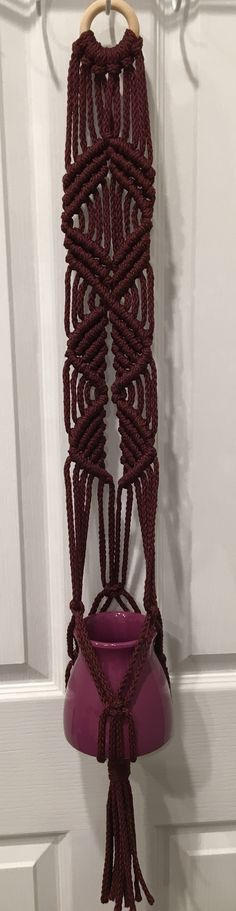 Macrame decor for sale. Message me if you are interested!