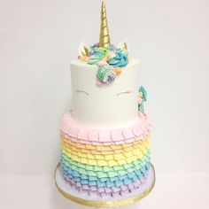 Via @sweetnsaucyshop  *** Our unicorn cake just got bumped up a notch! Cake by @francesmencias @kyongs_cakesncrafts  DoubleTap & Tag a Friend below #cake #cakes #cakedecorating #cakelover #cakestagram